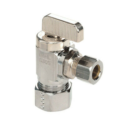 Dahl 211-33-31 5/8-inch Female Solder x 3/8-inch Compression Angle Stop Valve