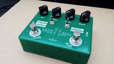 Caline CP-20 'Crazy Cacti' Overdrive Guitar Effects Pedal with true bypass