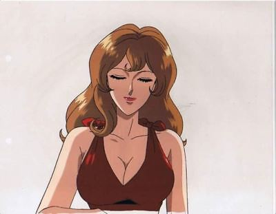 Lupin the Third Fujiko MINE Japanese Animation Cel No.2 with video A22