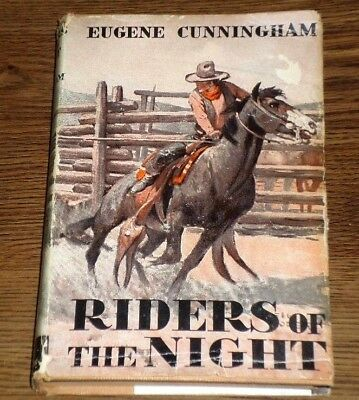 Vintage Western RIDERS OF THE NIGHT by Eugene Cunningham