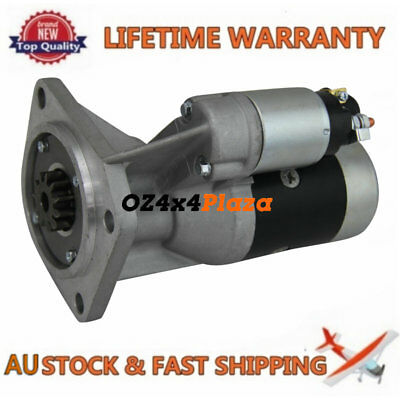 Starter Motor For Nissan Patrol GU II III IV inc Turbo Engine TD42 4.2L 00-2007
