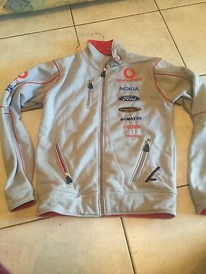 V 8 Supercars Ford Vodafone triple 8 zip up jacket