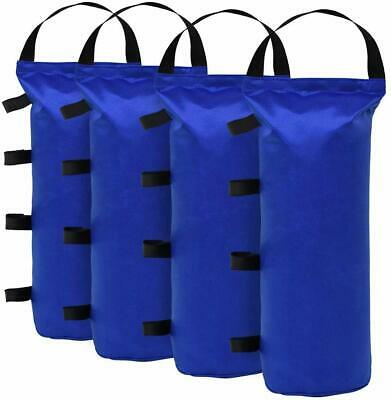 4pcs Monoshock Blue Sand Bag Weight Bag For Instant Canopy Tent Gazebo Shelter