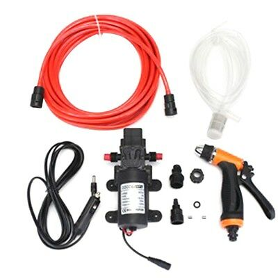 DC12V High Pressure Washer Water Pump 100W Kit Marine Boat Car Caravan Campervan