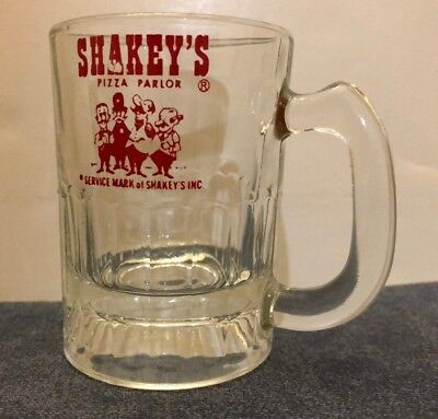Vintage Shakey's Pizza Mini Mug ~ Kids Size ~ 1970's