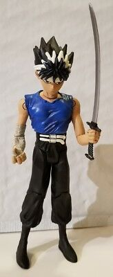 Yu-Yu Hakusho, Ghost Files: Hiei Action Figure (JAKKS, 2003) Blue Shirt W/ SWORD