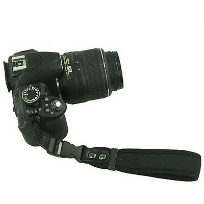 Camera Hand Grip For Canon EOS Nikon Sony Olympus SLR/DSLR Cloth Wrist Strap TR