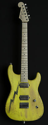Luxxtone Guitars El Machete - boxcar yellow