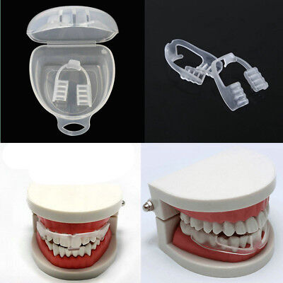 1Pcs Clear Silicone Dental Mouth Guard Sleep Aid Night Teeth Tooth Grinding UK