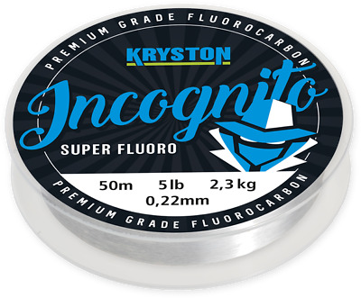 Kryston Incognito super Fluorocarbon Hooklength rig material chod filament
