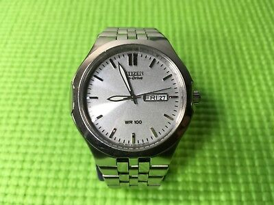 Citizen Eco-drive women's watch Silver Tone Stainless Steel