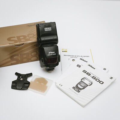 Nikon SB SB-800 Speedlight Shoe Mount Flash - Boxed and in Good Condition