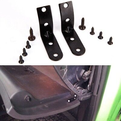 Black Glove Box Lid Hinge Bracket Repair Kit for Audi A4 S4 RS4 B6 B7 8E DH