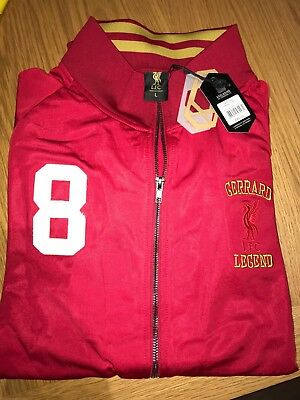 LFC RED GERRARD JACKET - Tagged and Bagged + 70% discount!