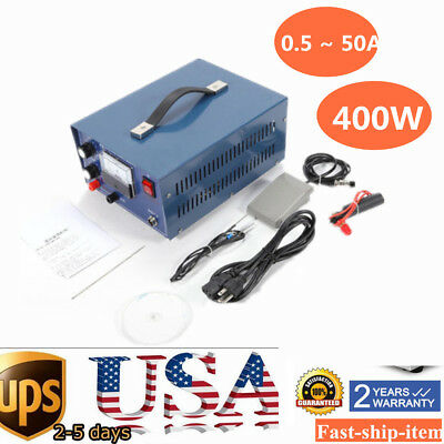 50A Pulse Sparkle Spot Welder Platinum Gold Silver Jewelry Welding Machine 110V