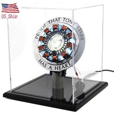 US Ship!DIY Master Grade Iron Man Mk1 Arc Reactor USB Powered Fans Gift