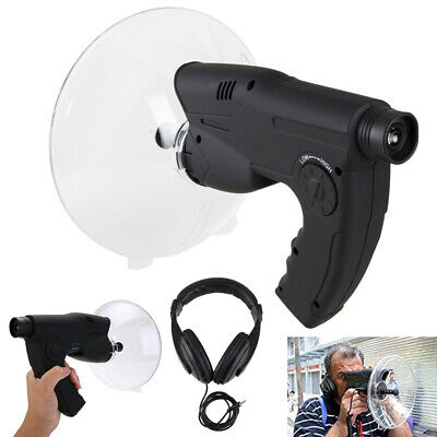 Extreme Sound Amplifier Ear Bionic Birds Recording Spy Watcher Listening Device