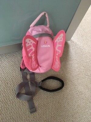 Little life backpack reins fairy wings- never used.