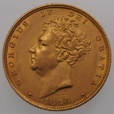1826 George IV Gold Sovereign