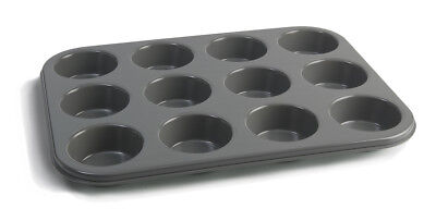 Jamie Oliver Baking Oven Muffin Cupcakes Tin Tray, 12 Holes, 35cm x 27cm x 3cm