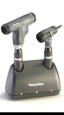 WELCH ALLYN Desk Charger, 2- 71900 L-ion Handles,Panoptic 11820,macro 23810