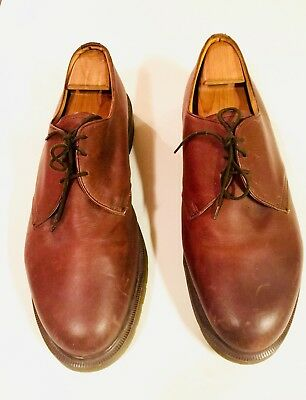 Dr. Martens The Original Men's Sz 14 Brown Unisex Vintage Style Low-top Shoes