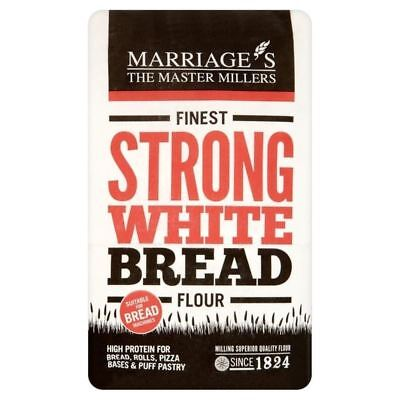 Marriage's Finest Strong White Flour 1.5kg - (PACK OF 4)