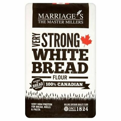 Marriage's Very Strong Canadian White Flour 1.5kg - (PACK OF 4)