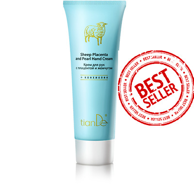 TianDe Products Sheep Placenta and Pearl Hand Cream