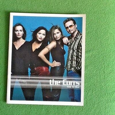 The Corrs Tour in Blue Concert Programme and ticket from Wembley 2000
