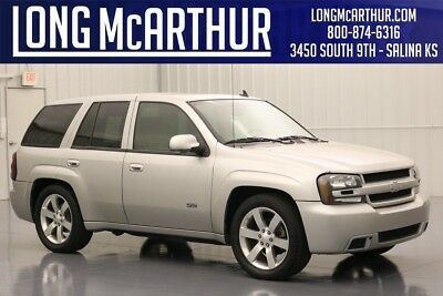Chevrolet Trailblazer SS 6.0  V8 4 SPEED AUTOMATIC 4 DOOR LEATHER MOONROOF CLEAN AUTOCHECK REAR WINDOW DEFROST SOLAR RAY DEEP TINTED GLASS