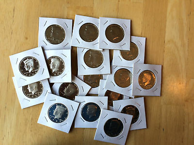 Old Rare PROOF Kennedy Half Dollar Mint Coin Mixed Lot Buy 5 get 1 Free!!