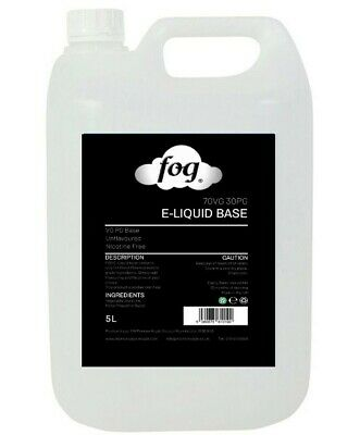 FOG DIY Liquid Mixing Base VG PG Vegetable Glycerine & Propylene Glycol