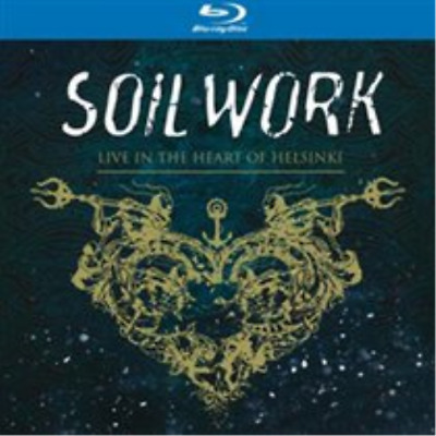 Soilwork-Live in the Heart of Helsinki  (UK IMPORT)  CD with Blu-ray NEW