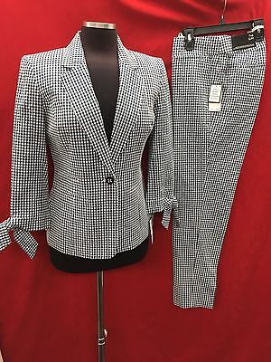 "Nine West Pant Suit/new With Tag/inseam 31""/retail$240/size 16/navy/white"