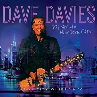 Dave Davies - Rippin' Up New York City: Live At City Winery NYC [CD]