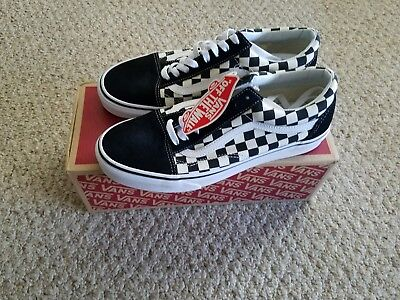 VANS OLD SKOOL Checkerboard Black Checker Primary Check VN0A38G1P0S size  9.5 -  69.00  215342785