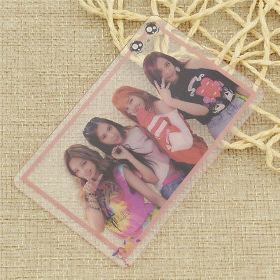 1x Kpop Star BLACKPINK Transparent Album Photocard Collectable Clear Card Craft