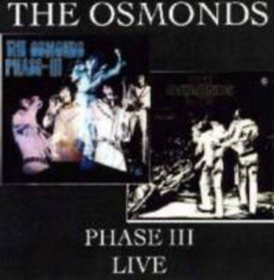 The Osmonds - Phase III  / Live [CD]