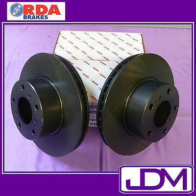 RDA Rear Brake Disc Rotors to fit VY Holden Commodore