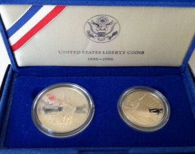 1886-1986 UNITED STATES LIBERTY COINS  -141p