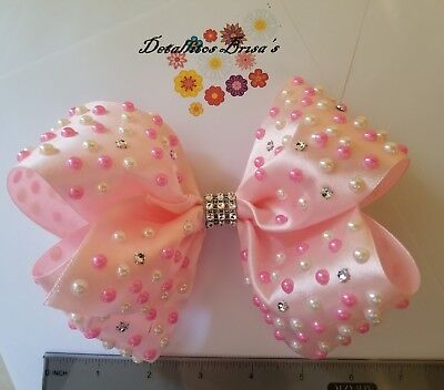 """Girl's Large Boutique Hair Bows 7"""""""
