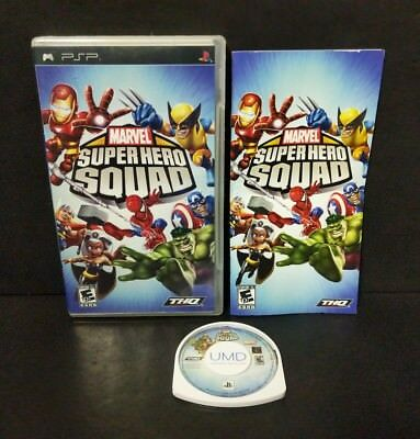 marvel super heroes psp