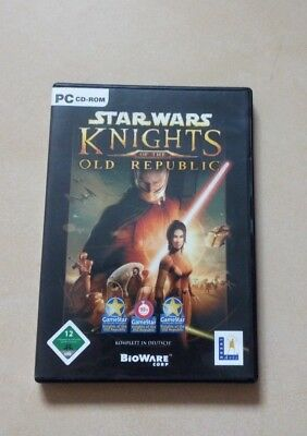 Star Wars Knights of the Old Republic (KotoR 1) Deutsche Version - 2€ Versand