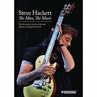 Steve Hackett - The Man, The Music [DVD][Region 2]