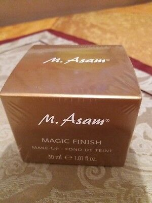 M.Asam , Magic Finish, MAKE UP MOUSSE 30 ml , NEU & Eingeschweißt