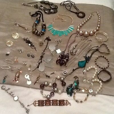 Job Lot Of New And Used Mixed Costume Jewellery