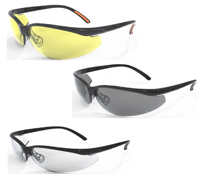 Site Safety Spectacles {Clear,Grey & Yellow Tinted} with Spec Cord, Mixed option