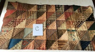 Very Old Quilt Block, 16 x 26 inches, (C)