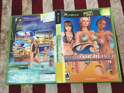 Dead or Alive: Xtreme Beach Volleyball (Microsoft Xbox, 2003) Complete! Tested!